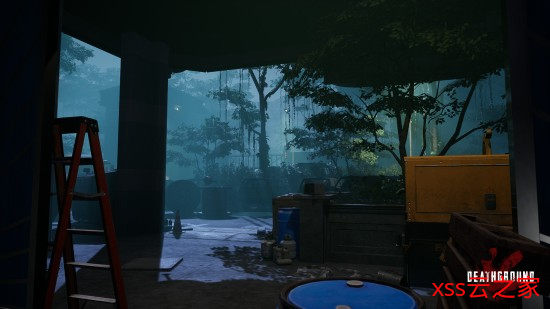 生存恐怖《Deathground》玩法演示 与恐龙殊死战斗