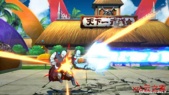 《龙珠斗士Z》新DLC截图 龟仙人暴打天津饭