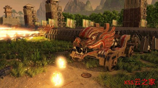 《三国:全面战争》南蛮DLC将于9月3日推出 欢迎来到苍翠密林