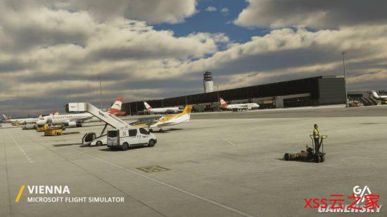 《微软飞行模拟》维也纳、迈阿密机场推出 完美还原