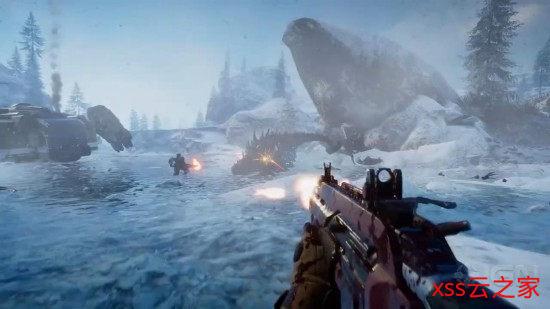 合作类打恐龙FPS《二次灭绝》新预告 Steam版下月开启EA测试