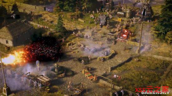 柴油朋克RTS《钢铁收割》上线预告 钢铁机甲降临架空一战
