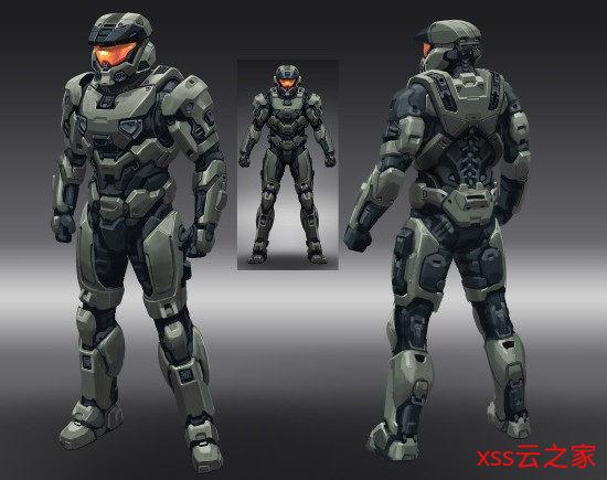 《光环:无限》概念图 展现新反派角色与新型装甲