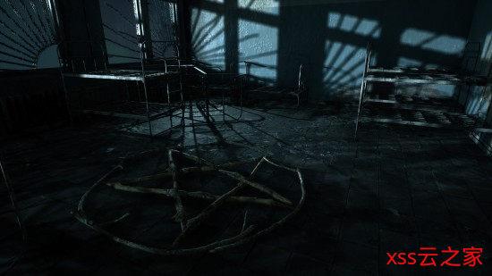 恐怖解谜《玫瑰之死》演示 在荒废学校搜寻邪教线索